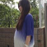 妊婦さんとヘアカラー